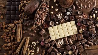 Картинка сладости. Орехи, конфеты, шоколад, еда, корица. 🍬 🍫