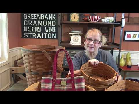 Collections Of Shame Longaberger Baskets Still Useful For Storage And Organization