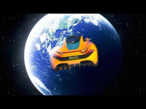 CRASHING INTO EARTH AT 5000 MPH! (GTA 5 Funny Moments)