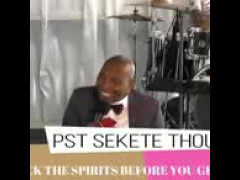 Evangelist Sekete Spirit Of Discernment Youtube