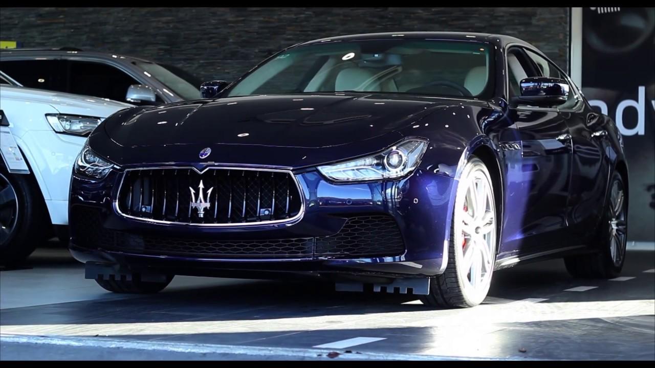 Maserati Ghibli Q4 >> 2014 Maserati Ghibli S Q4 3.0 V6 4X4 - www.maserati-west.ch - YouTube