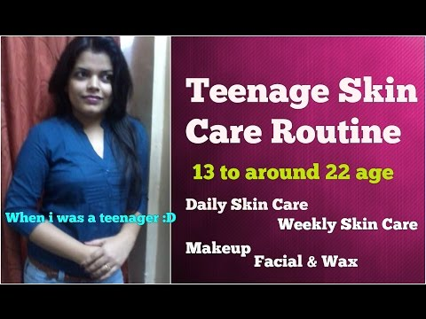 TEENAGE SKIN CARE ROUTINE INDIA, PROBLEMS, TIPS, SOLUTIONS FOR MEN & WOMEN in HINDI