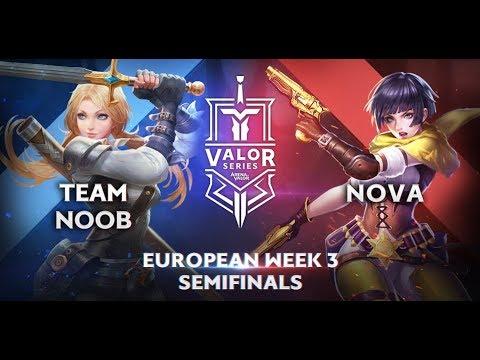 Team Noob vs. Nova Esports |Valor Series [Europe] Week 3 [Semifinal]