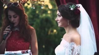 Марина и Саша  и их свадьба в цвете марсала Одесса