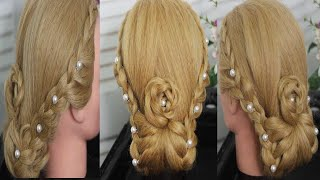 Wedding Updo Tutorial Bridal Prom Hairstyles For Long Hair