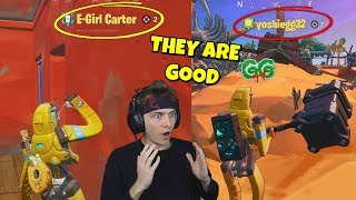 i spectated BANANA BOT skins and was shocked what i saw... (very weird)