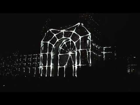 """White Night Melbourne 2018 - 4K  - """"What If"""" Royal exhibition building."""