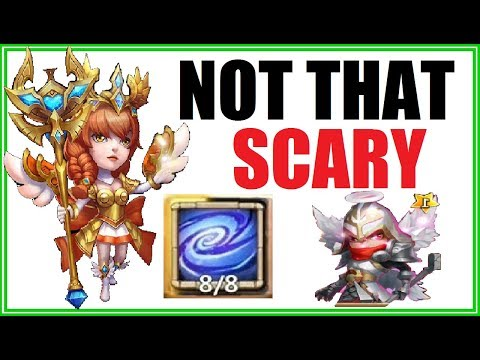 How To Kill EMPOWER ATHENE In Guild Wars EASY WAY Castle Clash