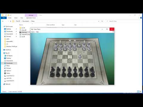 Install Chess Titans In Windows 10,8,7 @hsktube