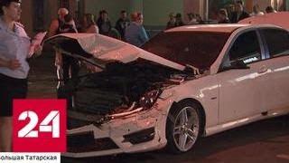 Ночной заезд на бешеной скорости: 8 пострадавших и пьяный водитель - Россия 24