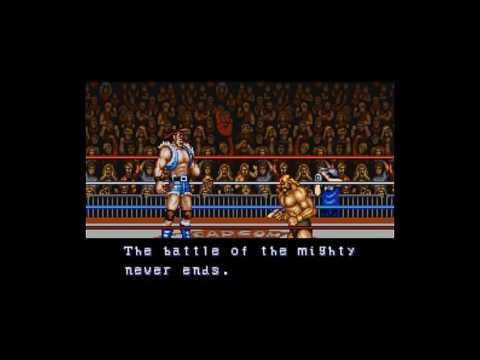 Saturday Night Slam Masters (Super Nintendo) - (Endings)