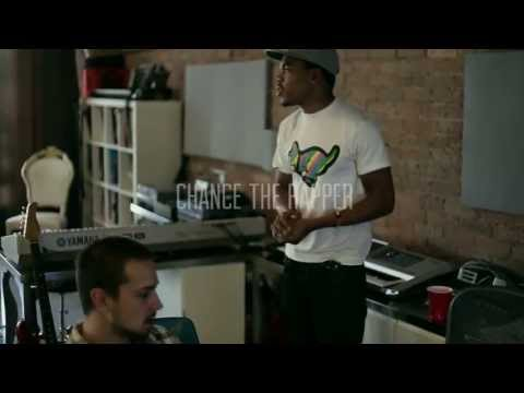 "Chance The Rapper ""Behind the Scenes of Acid Rap"" shot by @Elevator_"