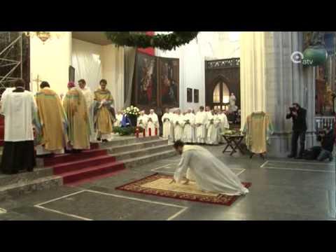 Priesterwijding in Antwerpse