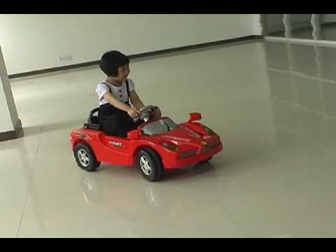 red ferrari enzo ride on car for kids