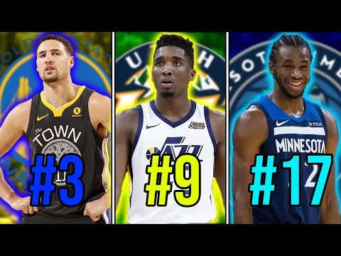 Ranking The BEST Shooting Guard From EVERY NBA Team In The 2018-19 Season