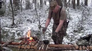 Уроки выживания в лесу.