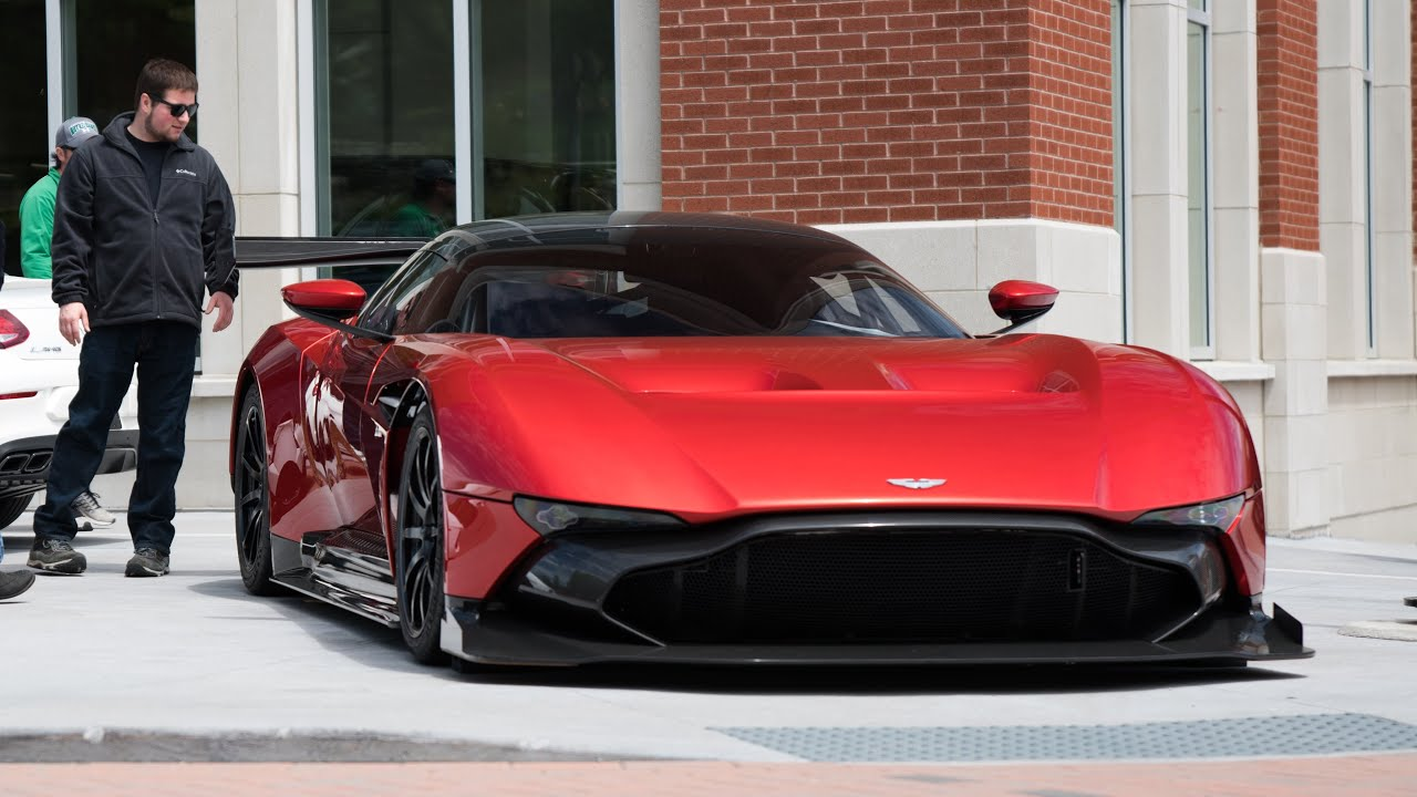 how the aston martin vulcan came to the united states - youtube