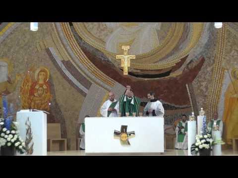 Ofiarowanie - Msza podczas kapituły generalnej
