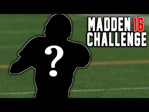 MYSTERIOUS NEW QUARTERBACK! - Peyton Manning The RB #9 - Madden 16 NFL Career Challenge