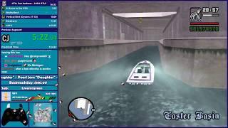 GTA San Andreas RTLS 100% Speedrun - Hugo_One Twitch Stream - 3/31/2018