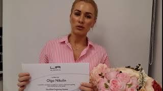 Отзыв Ольги из Германии на авторское обучение шугарингу у Лии Рустемовой. СПБ