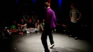 TEMPSICK [Funky Masons] vs. BIENIO [Keep it Funky Crew] - STREETDANCE SESSION NBDS POPPIN part II