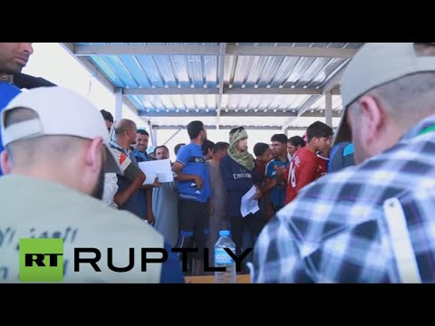 Iraq: UNHCR supplies aid to Fallujah refugees as army advances on IS