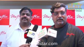 Vikram Prabhu Inaugurates Maplai South Indian Restaurant