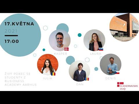 Živý pokec se studenty z Business Academy Aarhus