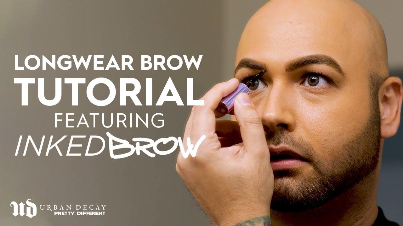 Longwear Brow Tutorial feat. Inked Brow   Urban Decay Cosmetics