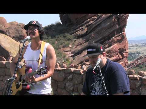 THE EXPENDABLES - Music Move Me - unreleased acoustic MoBoogie Session at Red Rocks
