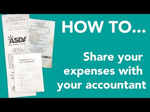 How to automatically share your expense data and receipts with your accountant with 1Tap Receipts