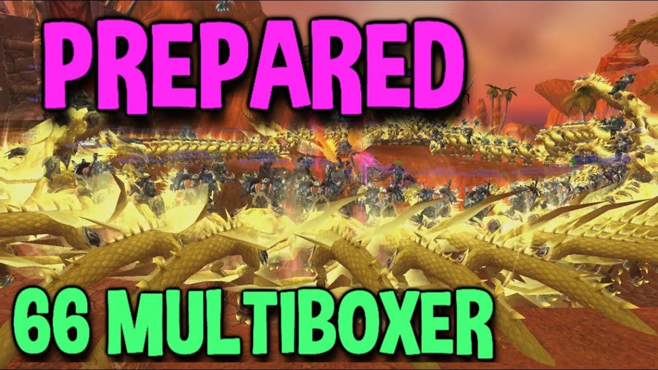 """Download World of Warcraft: """"PreparedWoW Multiboxer"""" (66 MULTIBOX)"""