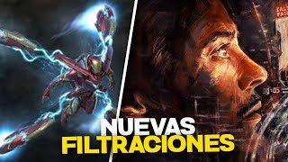 ¡NUEVAS FILTRACIONES! Avengers ENDGAME
