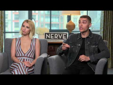 Greg Russell s the stars of 'Nerve'