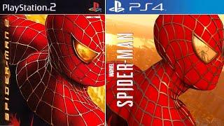 Recreating 'Spider-Man 2' (PS2) | Spider-Man PS4
