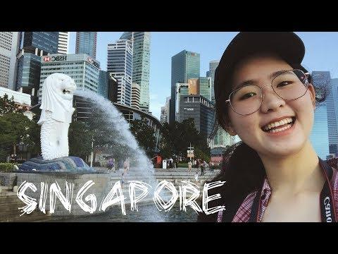 [VLOG] 在新加坡轉機的一天 Travel in Singapore