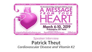 Cardiovascular Disease and Vitamin K2 (ICIM Conference '19)