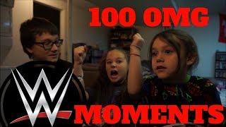 WWE 100 OMG Moments (10K Special ) Reaction! (Re-Upload From Main Channel)