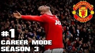 Video FIFA 13 : Manchester United Career Mode - Season 3 - Part 1 download MP3, 3GP, MP4, WEBM, AVI, FLV Desember 2017