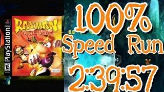Rayman Rush 100% Speed Run in 2:39:57