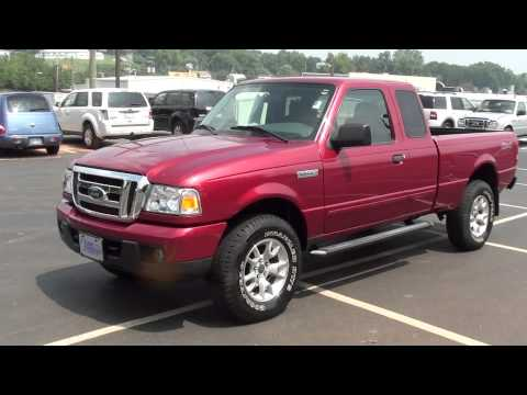 FOR SALE 2007 FORD RANGER XLT!! ONLY 21K MILES!! 4X4,5 SPEED!! STK# 12051A