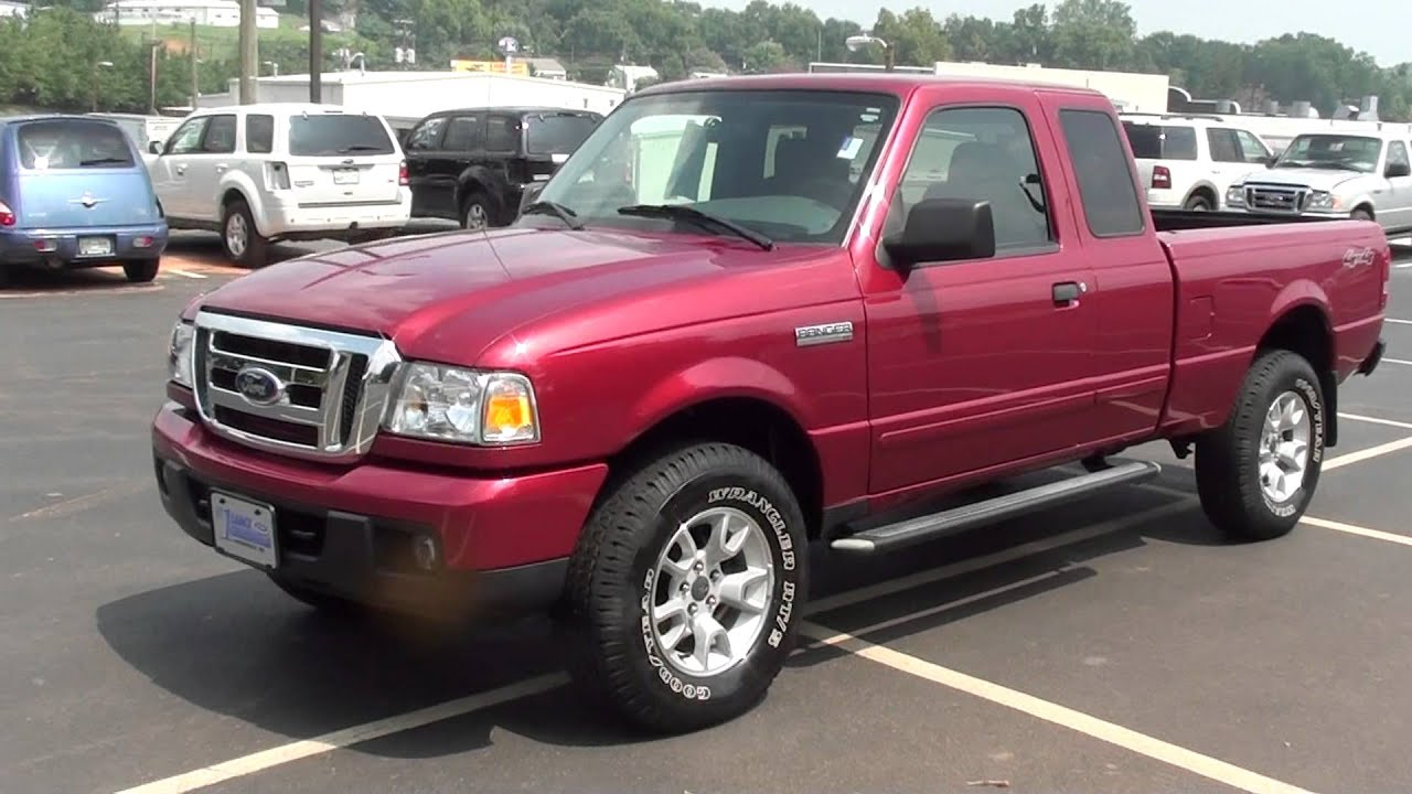 For sale 2007 ford ranger xlt only 21k miles 4x45 speed stk 12051a