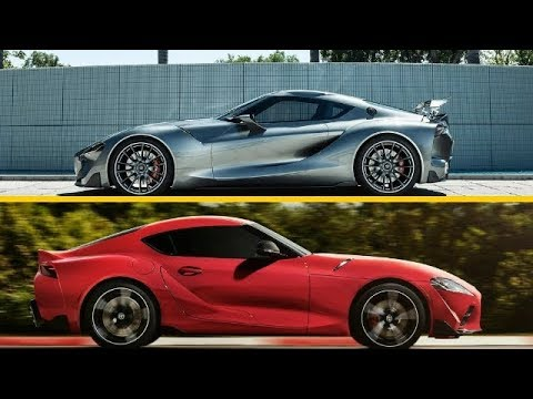 FT-1 CONCEPT VS 2020 TOYOTA SUPRA