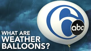 What are weather balloons?