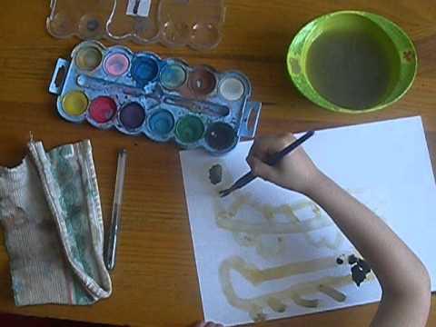 Dessins d 39 enfant 2 samuel dessine le tigre a dent de sabre dessin tigre youtube - Dessin de sabre ...