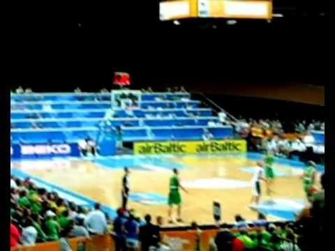 Basketball against Lithuania
