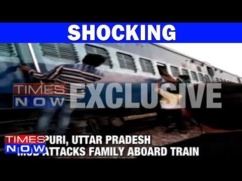 Mob Attacks Family Aboard Train In Mainpuri, Uttar Pradesh
