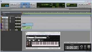 Teclado virtual en pro tools10 para laptop ó CPU