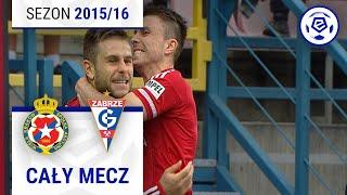 Wisła Kraków - Górnik Zabrze [1. połowa] sezon 2015/16 kolejka 31
